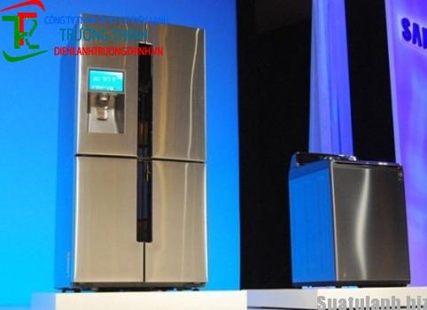 Samsung sắp ra mắt tủ lạnh chạy hệ điều hành android