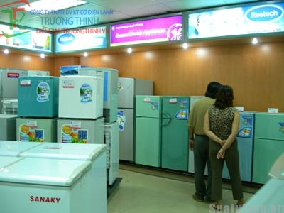 Tủ lạnh không dùng chất làm lạnh CFC