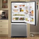 Sắp xếp thực phẩm trong tủ lạnh siêu gọn với đồ dùng tiện ích