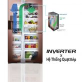 Công nghệ quạt kép của tủ lạnh Hitachi có gì đặc biệt?